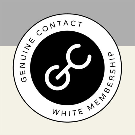 White Membership Level in the Genuine Contact Organization