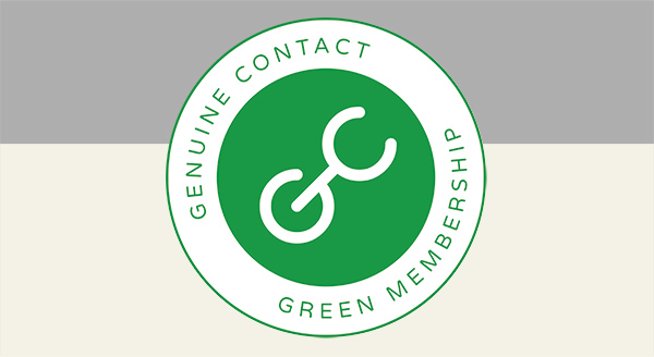 Become a Green Member of the Genuine Contact Organization