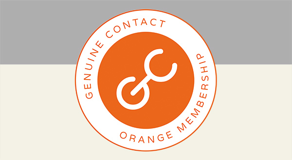 Become an Orange Member of the Genuine Contact Organization